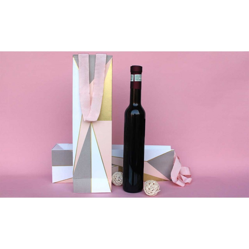 Asymmetrical Wine Bag