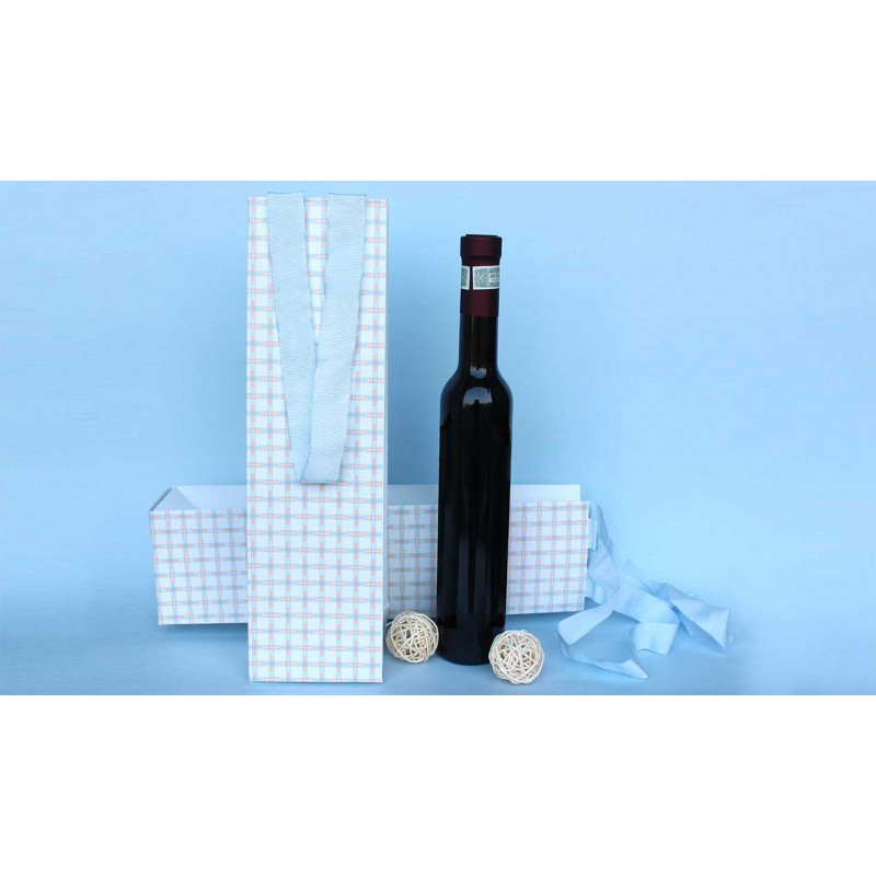 Criss Cross Wine Bag