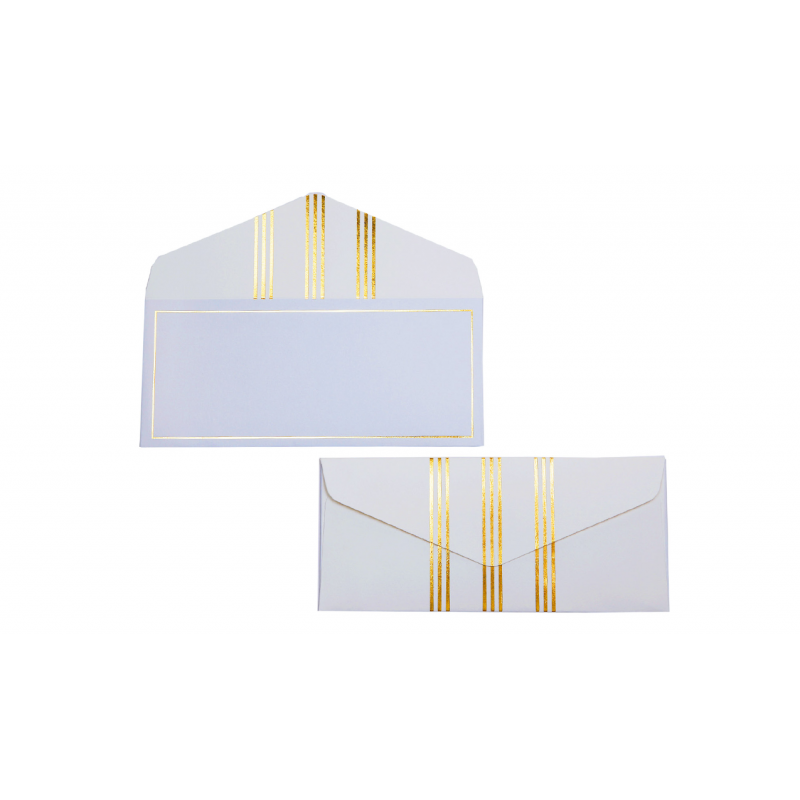 Blue and gold lines Money envelopes (Out of Stock)