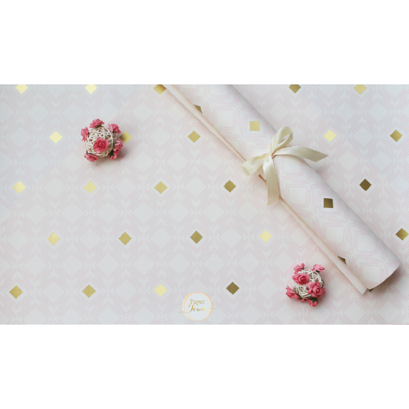 Gilded Diamond wrapping paper