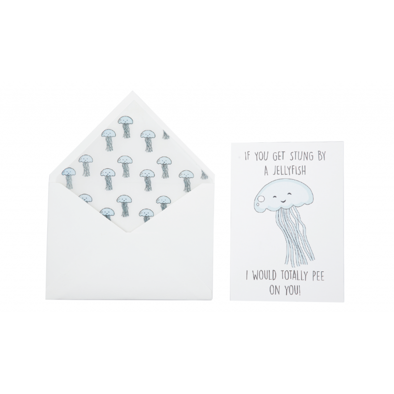 Jellyfish Love Card